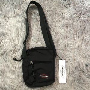 Eastpak The One Small Crossbody Bag – Black Side M